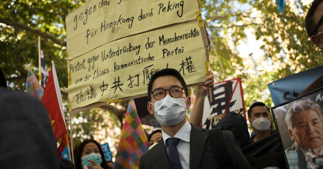 A Hong Kong Activist Nathan Law Seeks Political Asylum